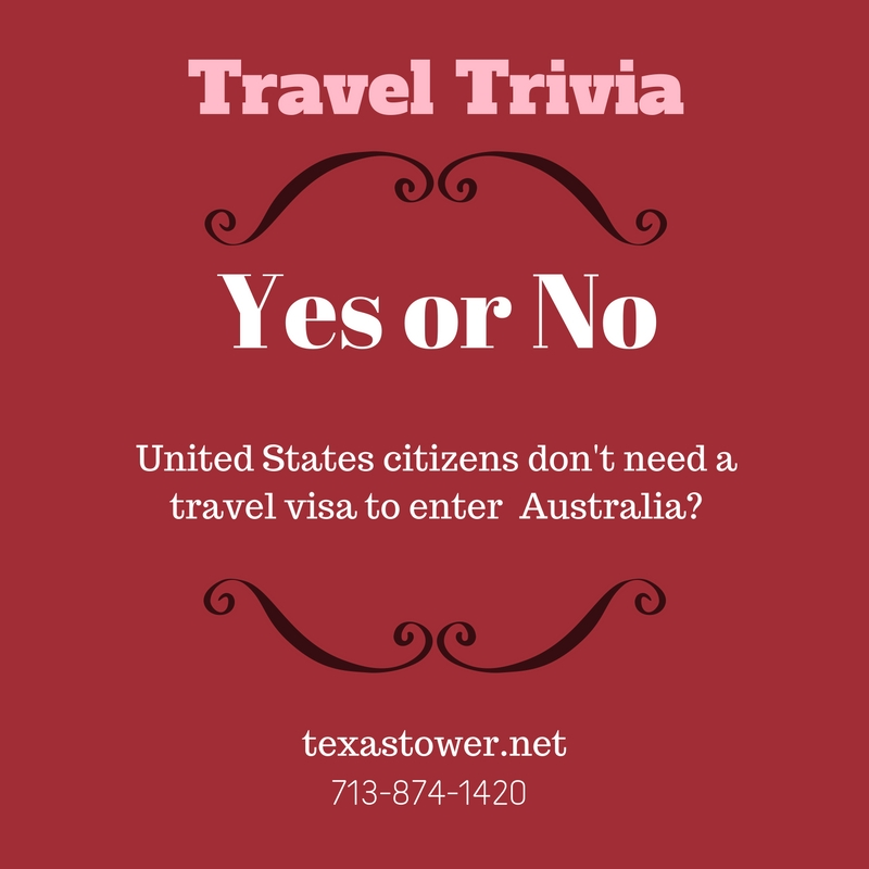 Travel Trivia Friday