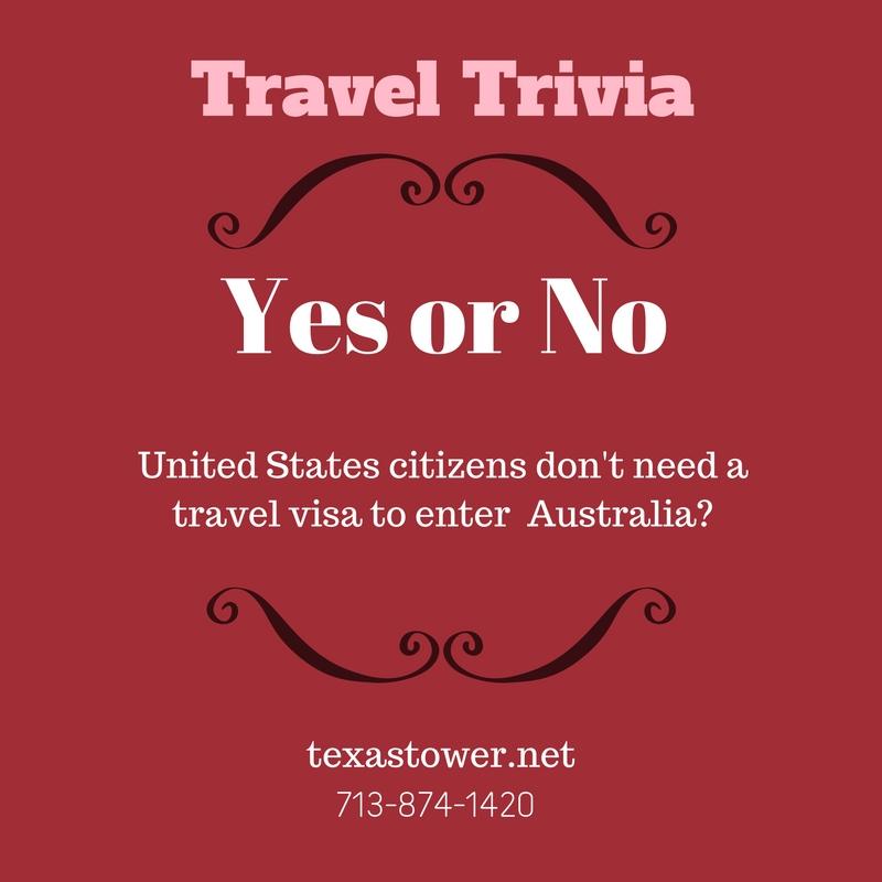 Travel Trivia Friday