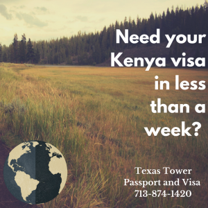 kenya travel visa