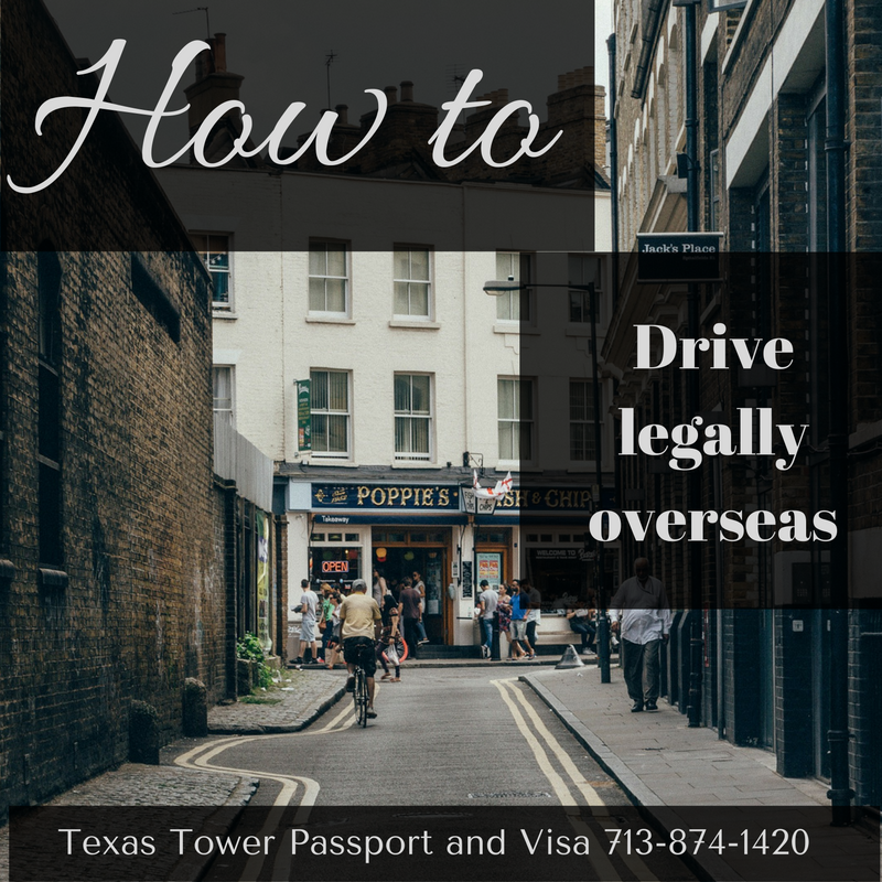 how to get international drivers license in texas