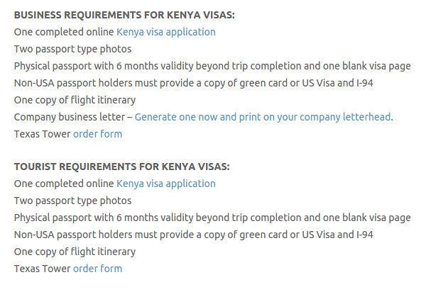 Kenya Visa Fast Call Now! (713) 874-1420 - Texas Tower Fast Passport and Visa Call Now! (713) 874-1420.clipular