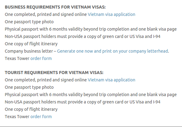 Vietnam Visa - Texas Tower Fast Passport and Visa Call Now! (713) 874-1420.clipular