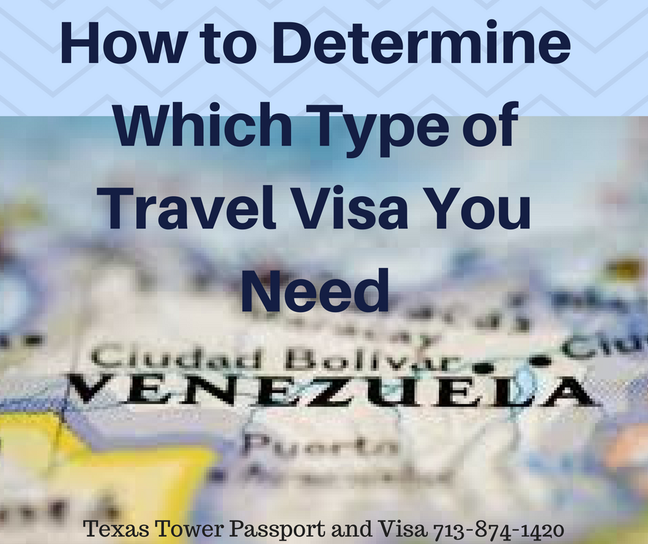 How to Determine Which Type of Travel Visa You Need