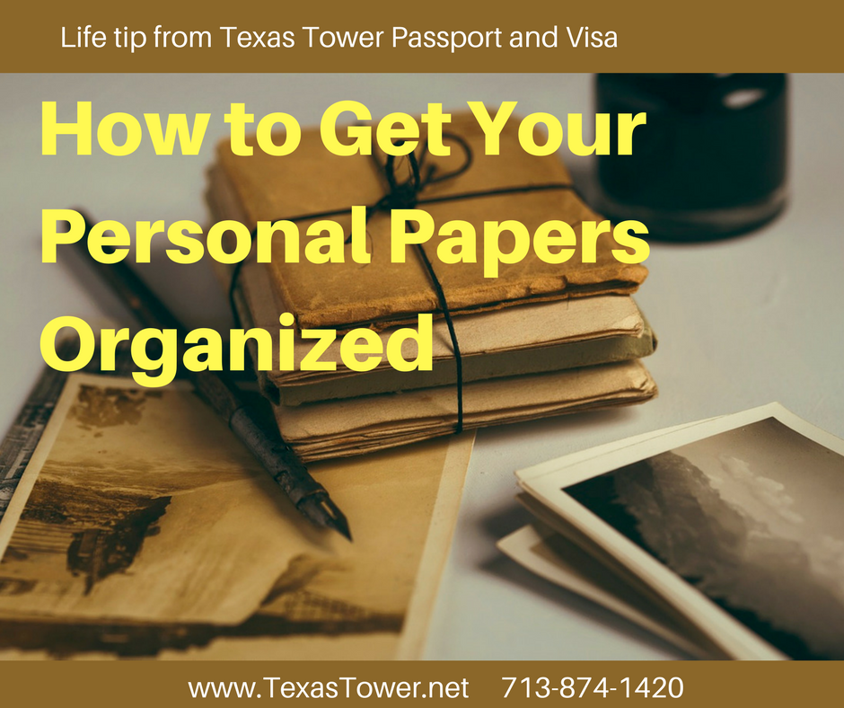 How to Get Your Personal Papers Organized