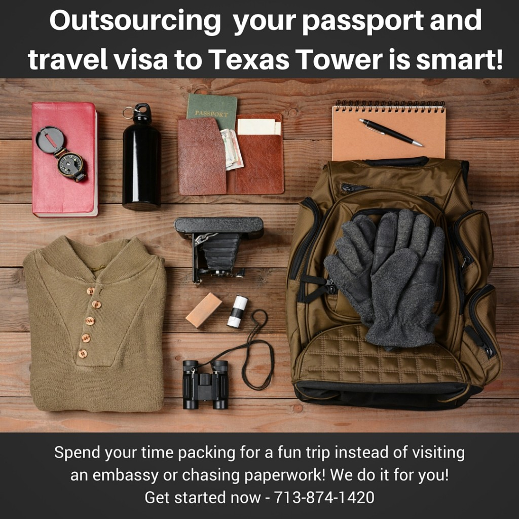 outsourcing your houston travel visa