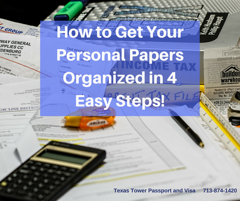 Spring Cleaning - Get Your Personal Papers Organized in 4 Steps! (1)