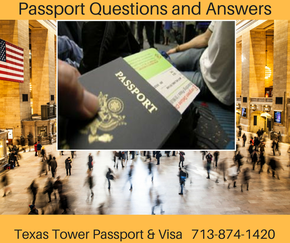 Passport Questions and Answers