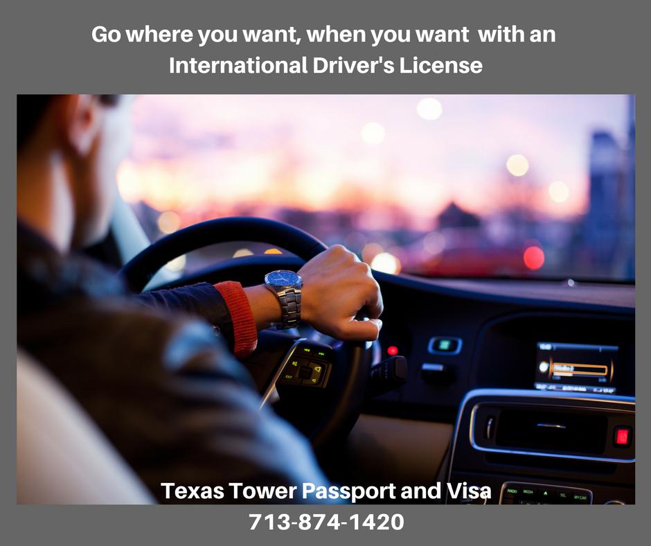 International drivers license texas