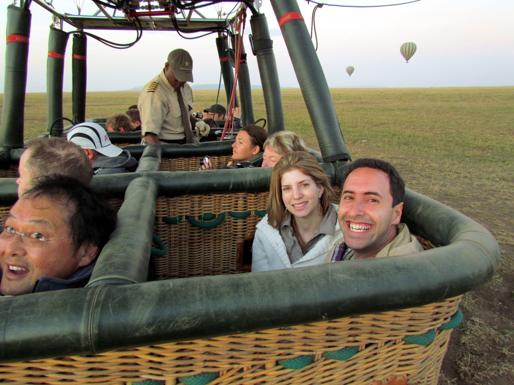 image credit: Serengeti Hot Air Balloon Ride - Serengeti National Park - Tanzania, Africa | by David