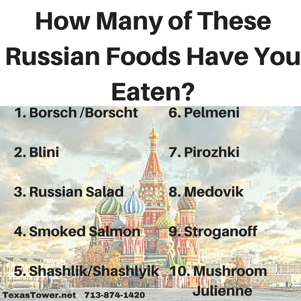 How Many of These Russian Foods Have You Eaten-