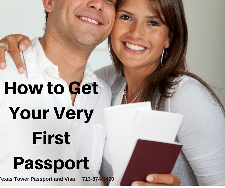 How to Get Your Very First Passport