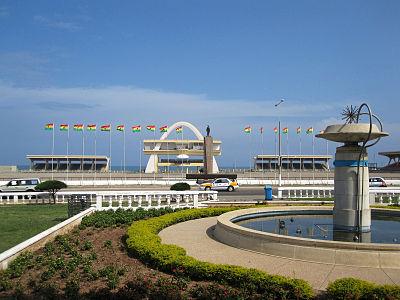 Independence Square, Accra, Ghana photo credit: Rjruiziii