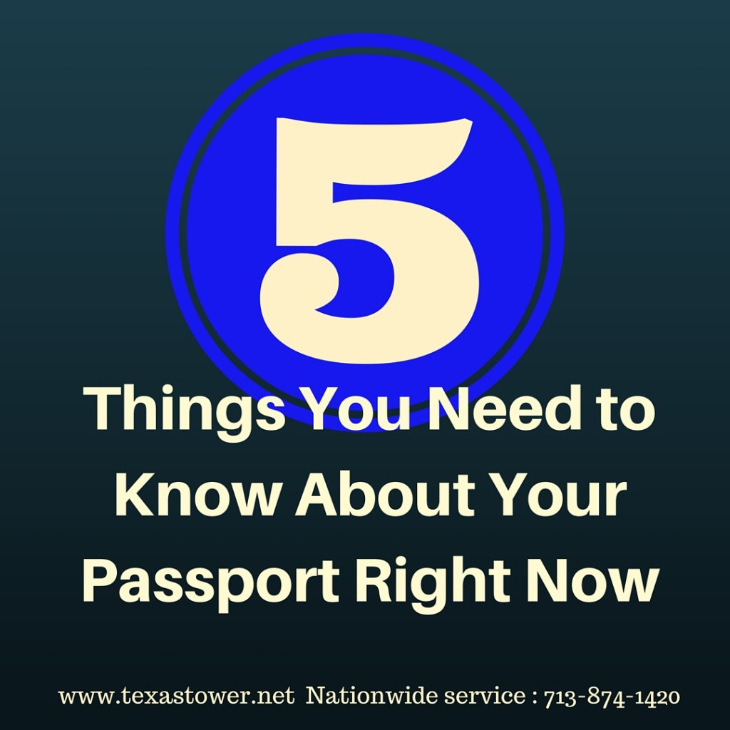 5 Things You Need to Know About Your Passport Right Now