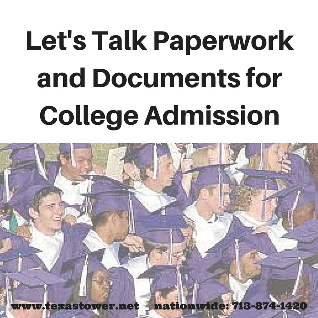 Let's Talk Paperwork and Documents for College Admission (1)