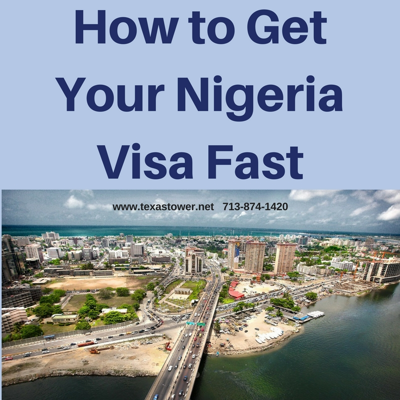 how to get your nigeria travel visa fast