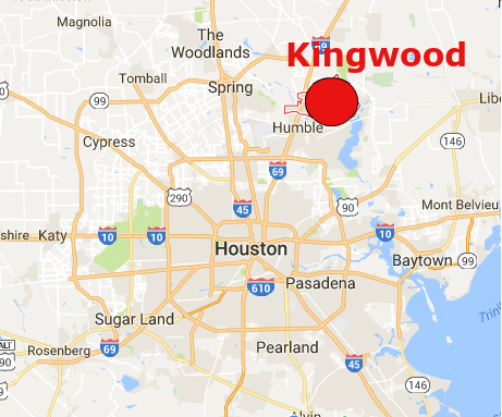 Where Is Kingwood Texas On Map