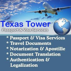 texas tower passport visa services