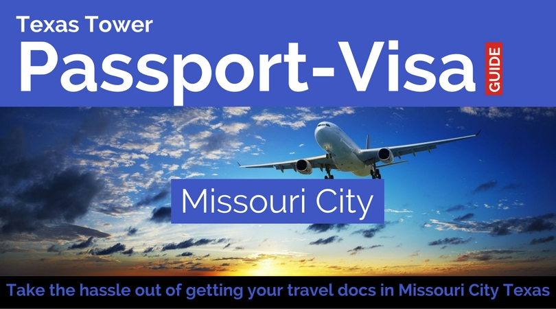 local missouri city texas passport and visa