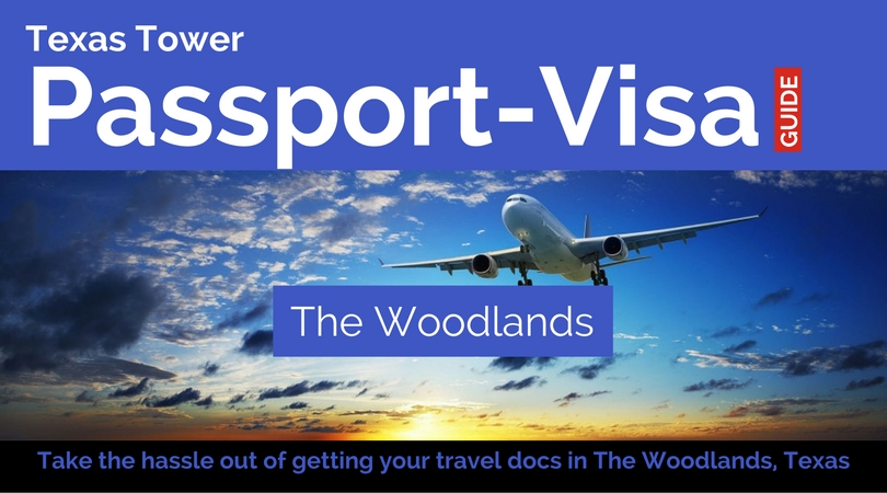 the woodlands texas passport and visa services