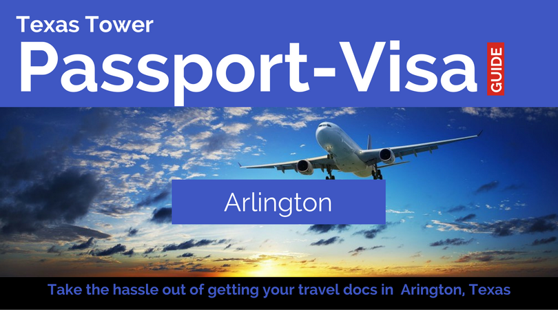 texas tower Arlington passport and visa local header