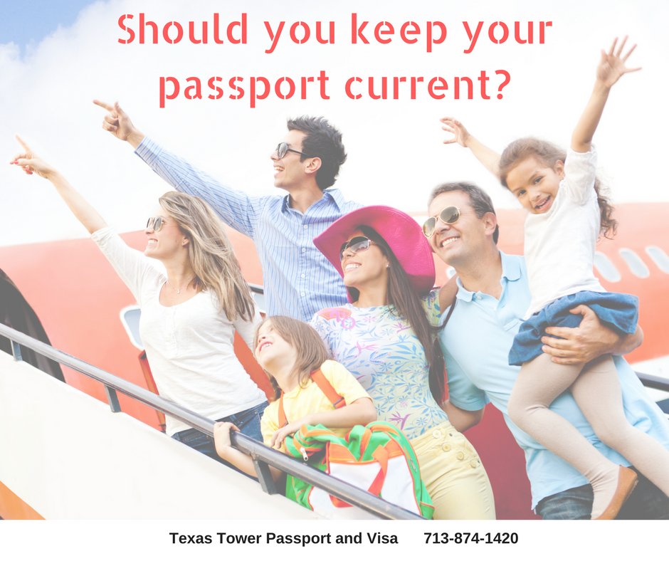 Should you keep your passport current-