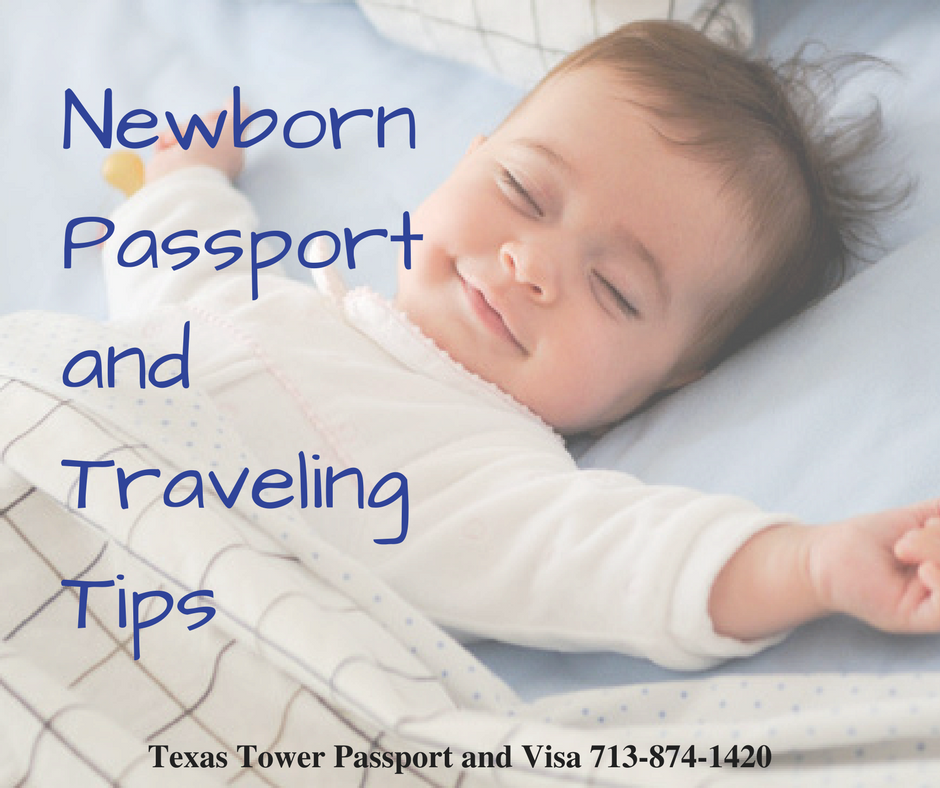 Newborn Passport and Traveling Tips