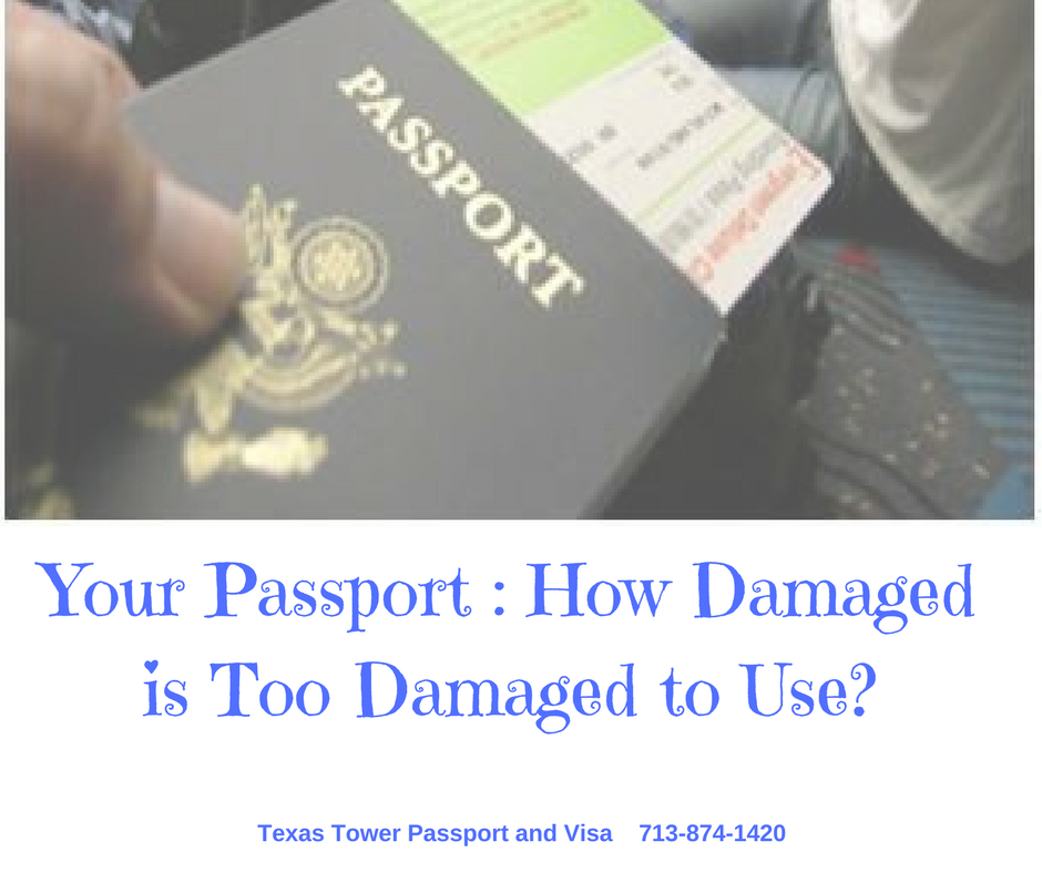 Your Passport - How Damaged is Too Damaged to Use-
