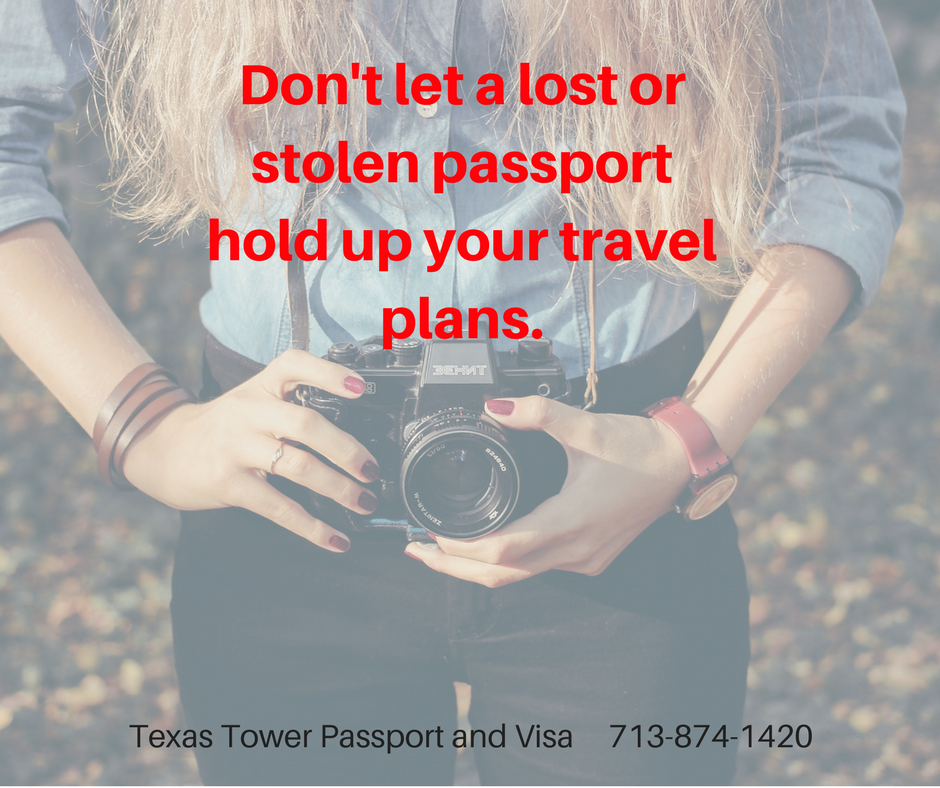 replace your passport