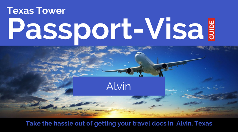 alvin texas passport and visa services