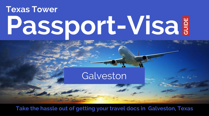 Galveston texas passport and visa services