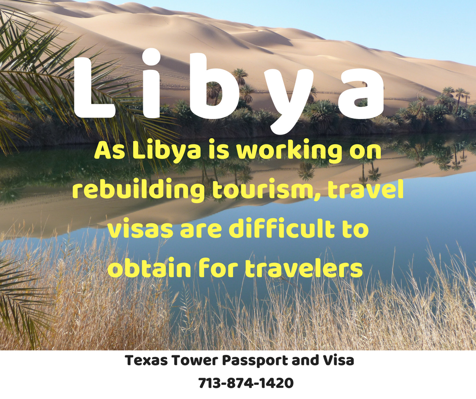 libya visa houston