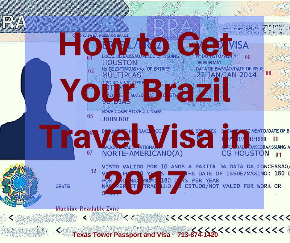Where Can I Get A Visa To Travel To Brazil
