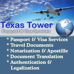 Texas Tower 24 Hour Passport and Visa, Expedited Passports